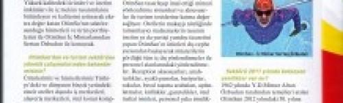 Turizm Dünyası dergisinde Sertan Özbudun ile röportaj