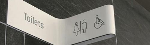 Yeni Kıvırmalı WC Piktogramları