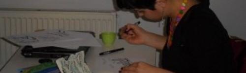Workshop tan 9 ayrı tasarım çıktı