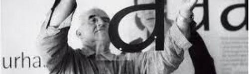 Otl Aicher Pictogramların yaratıcısı