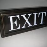 Bronz Exit Yazısı