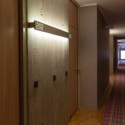 Özel Şekilli Işıklı Oda Numarası
