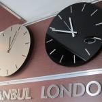 Paslanmaz Yazılı Saat