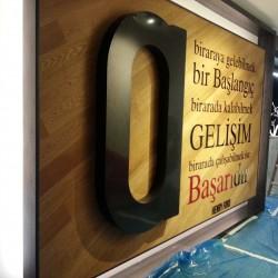 Özel Tasarım Sticker & Kutu Harf