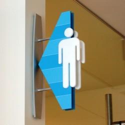 Akrilik Konsol WC Pictogramı