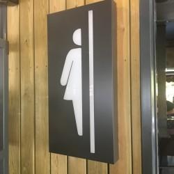 Metal – Akrilik WC Pictogramı