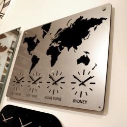 Metal Dünya Saatleri