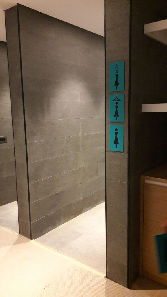 WC levhası