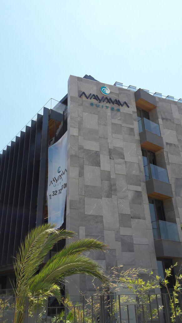Nayman Suites Cephe Kimlik Logosu