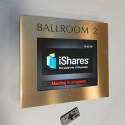 Dijital toplantı odası panosu
