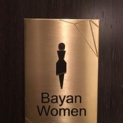 Bronz wc işareti