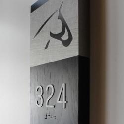 ahşap daire numarası