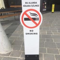 Ayaklı Sigara İçilmez Panosu