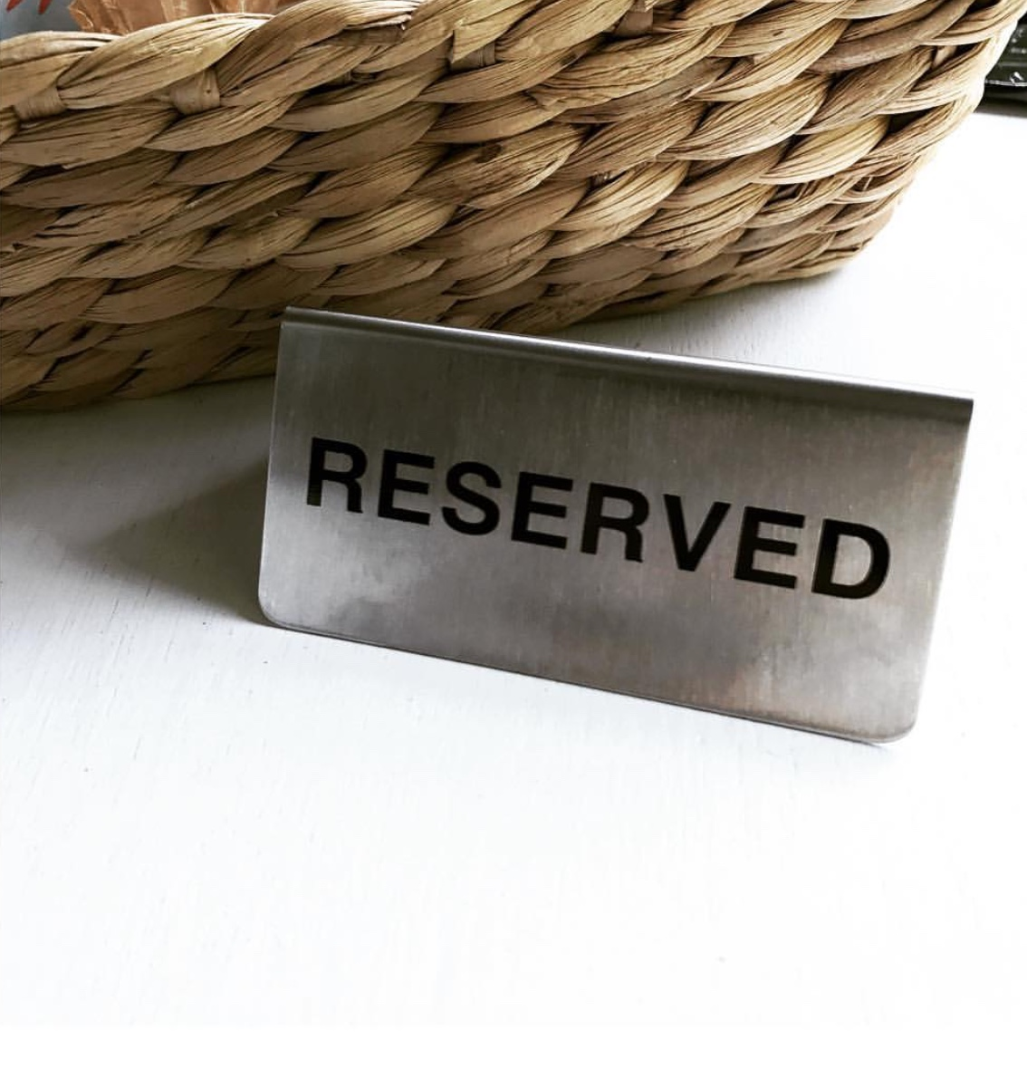 Reserved yazısı otimsan