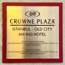 Crowne Plaza iç yönlendirmeleri