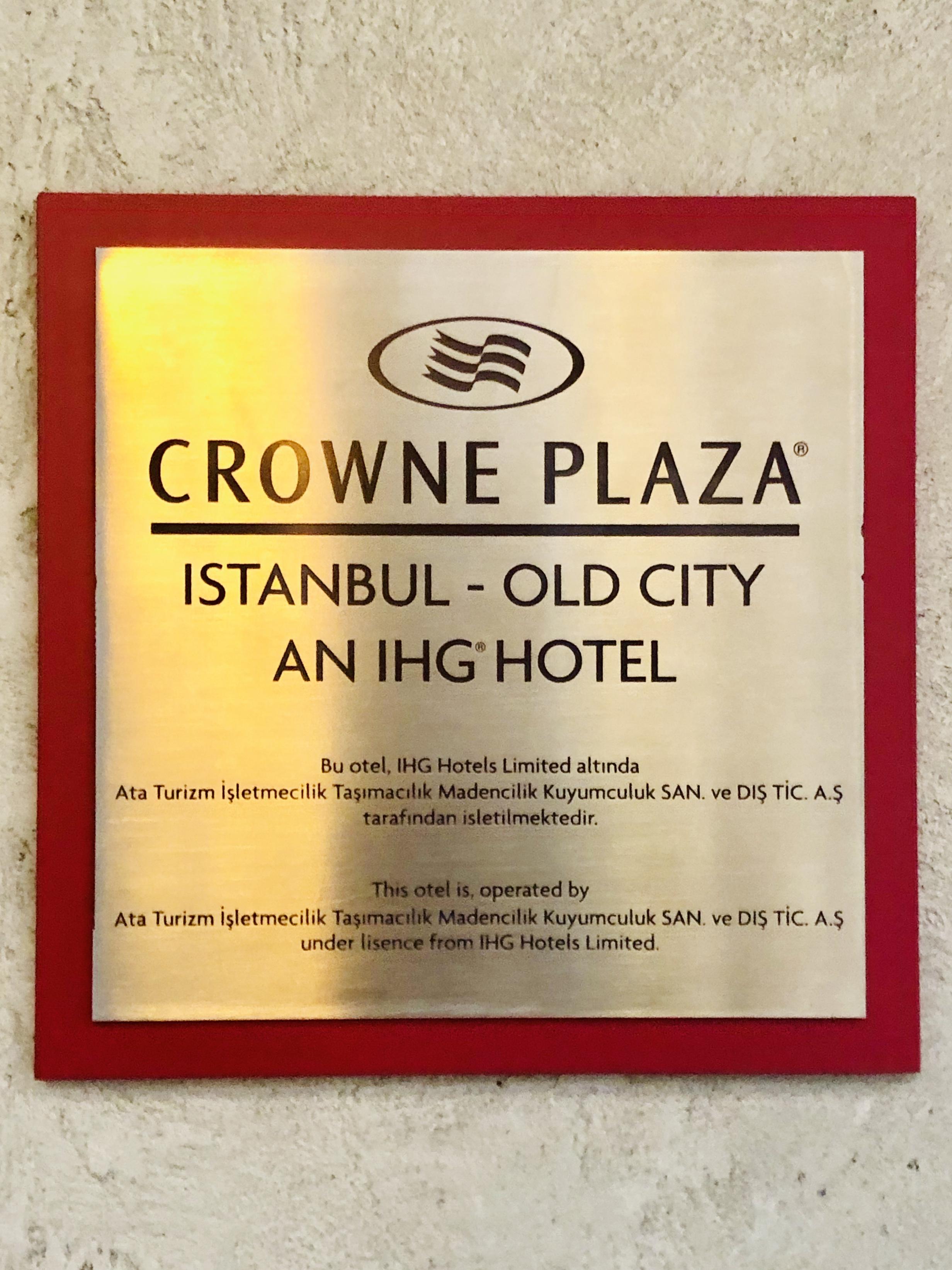 Crowne Plaza Istanbul - Old City hotel iç yönlendirmeleri