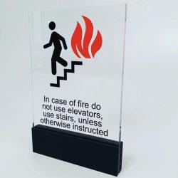 Yangın kaçış işareti