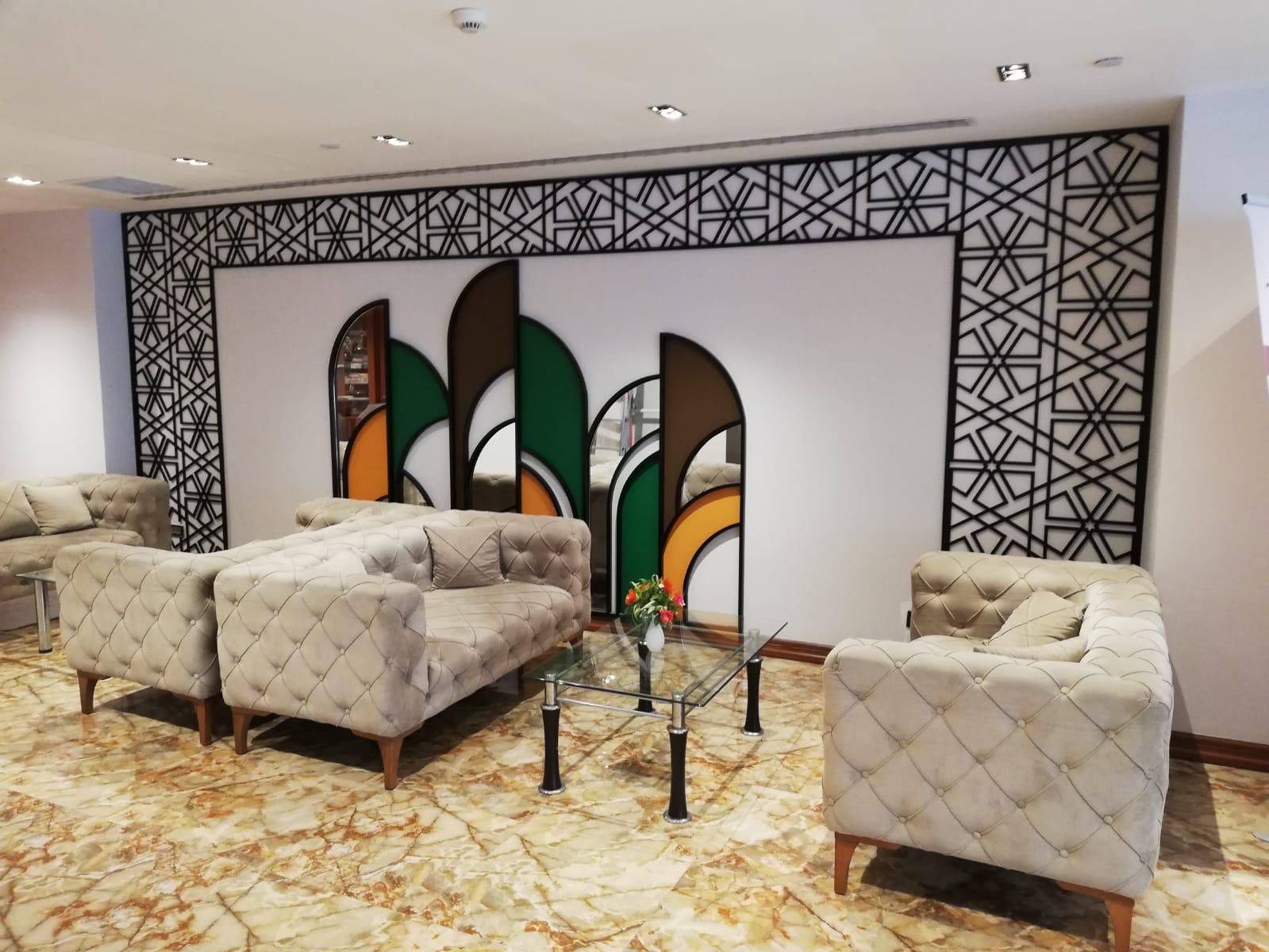Görsel duvar tasarımı