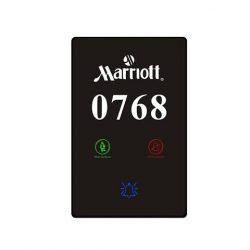 dokunmatik oda numarası