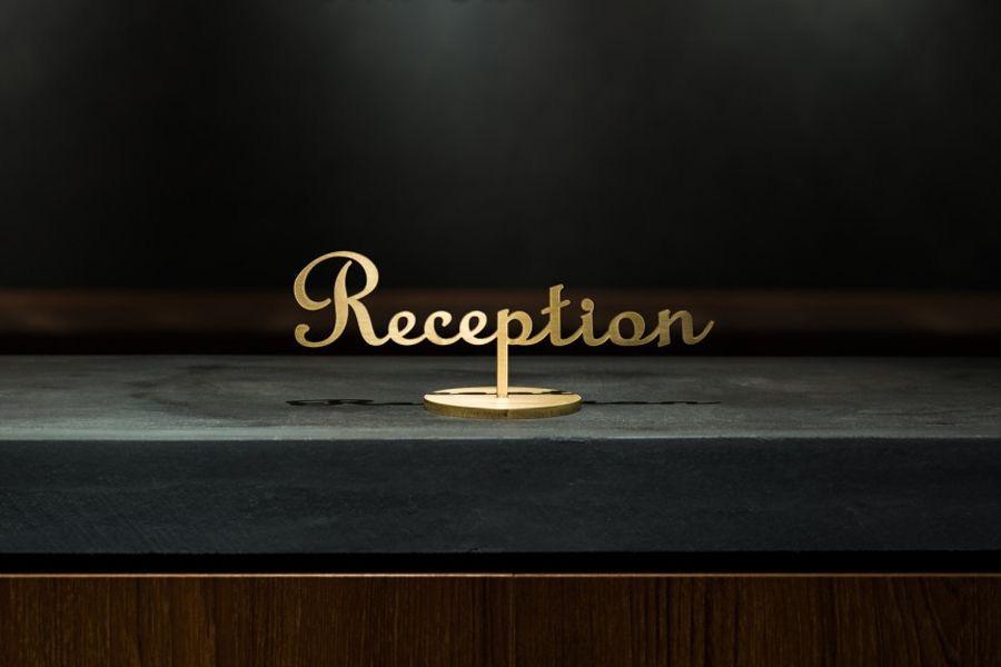 Reception yazısı