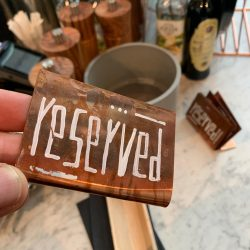 masa üstü reserved