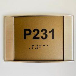 Braille Alfabeli Kapı Numarası